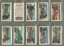 TRADE / cigarette cards set  Train Spotters 1962 by Lyons Maid